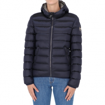 Giacca Colmar Orignials Donna Bomber Cappuccio Place 68 NAVY-DSTELL