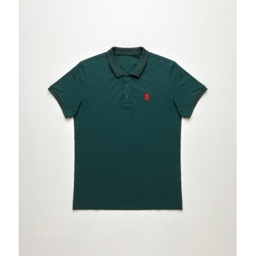 Polo Refrigiwear Uomo New Main Pique VERDE
