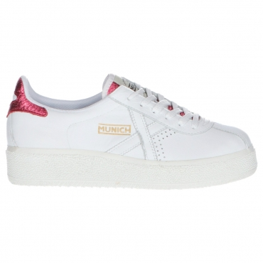 Scarpa Munich Donna Barru Sky Leather 11 WHITE