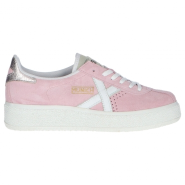 Scarpa Munich Donna Barru Sky Leather 12 ROSA
