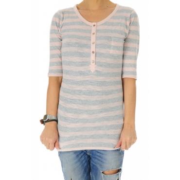 T-shirt Donna Tommy Hilfiger Manica Tre Quarti 272 PEACH