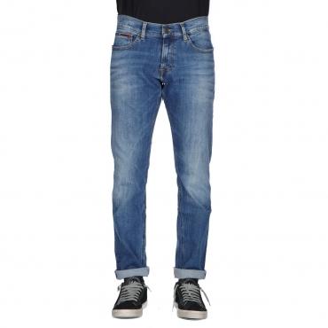 Jeans Tommy Hilfiger Jeans Uomo Slim Scanton Dynamic 911 MID BLUE