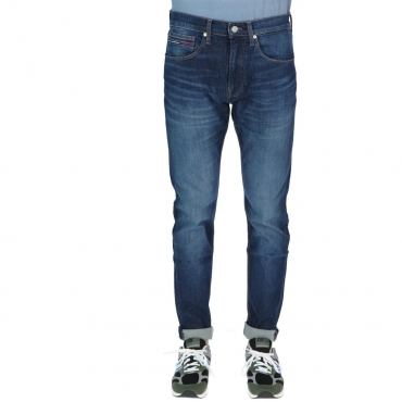 Jeans Tommy Jeans Uomo Taperad Tj 1988 1A4 DARK BLU