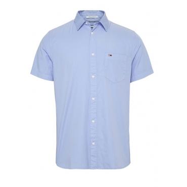 Camicia Tommy Hilfiger Uomo Mezza Manica Cotone C3S MODER BLUE