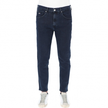 Jeans Tommy Hilfiger Uomo Taperad Relaxed Rey L32 1BY DARK BLU