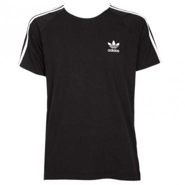 T-shirt 3-Stripes nera BLACK