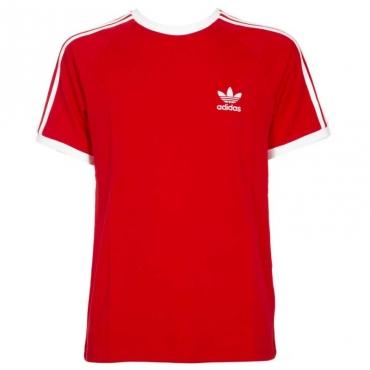 T-shirt 3-Stripes rossa SCARLET