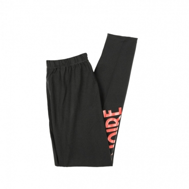 LEGGINS LOGO RED BLACK