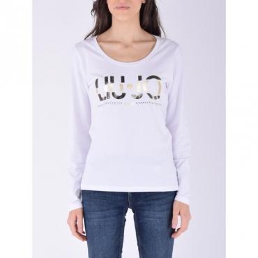 T-shirt moda m/l BIANCO OTTICO