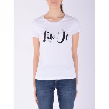 T-shirt m/c BIANCO/STONE