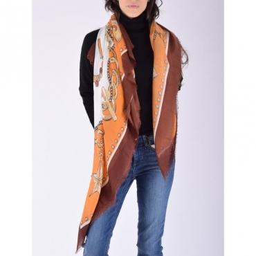 Ecs foulard 120x120 TORTOISE SHELL
