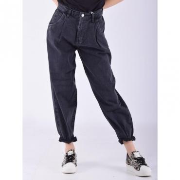 Jeans riprese fondo NERO