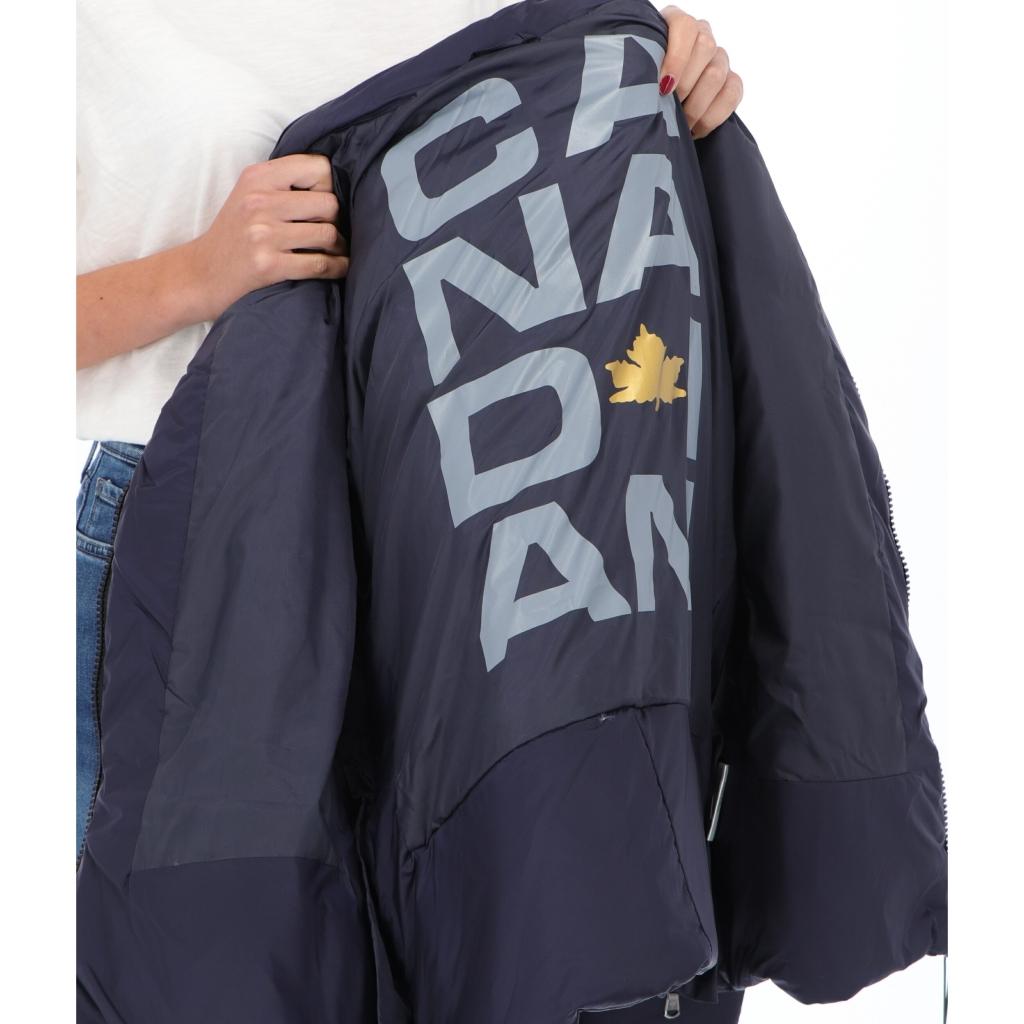 JKT EUGENIE SHORT SAT W CANADIAN navy