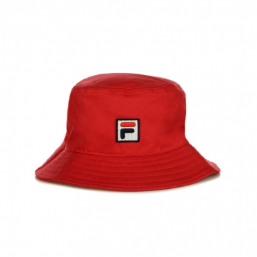 CAPPELLO DA PESCATORE BUCKET HAT BOX LOGO TRUE RED