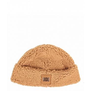 Sherpa Cuff Beanie beige