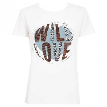 T-shirt Wild Love T9345BCOOTT