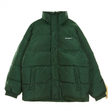 PIUMINO DANVILLE JACKET DARK TEAL/WHITE