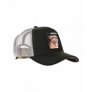 Baseball Cap Sabertooth verde scuro