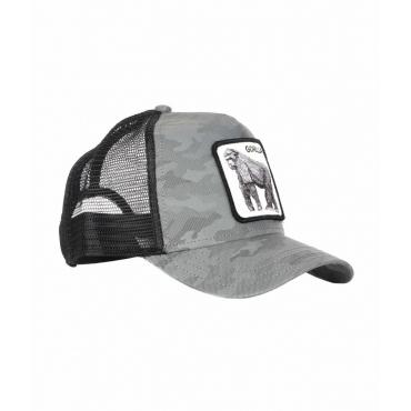 Baseball Cap Gorilla grigio