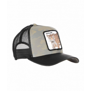 Baseball Cap Jaguar grigio