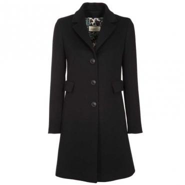 Cappotto in lana a due bottoni 186