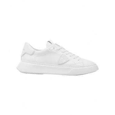 Sneaker TEMPLE LOW VEAU bianco