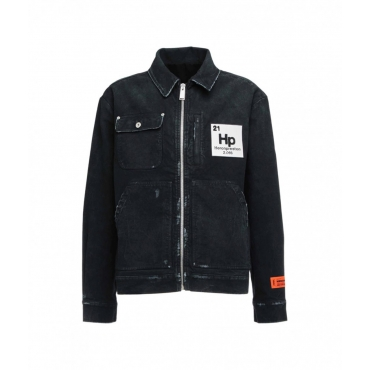 Worker Vintage Zip Jacket nero