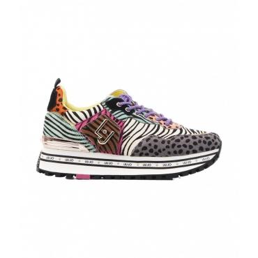 Sneakers Maxi Wonder in Pony Hair multicolore