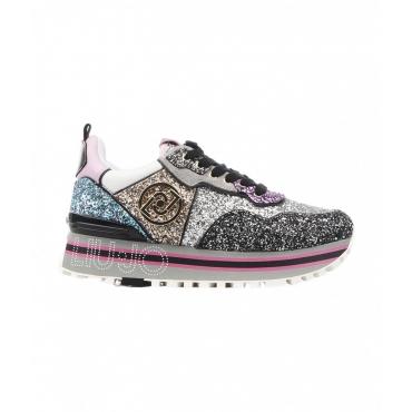 Sneakers Wonder Maxi in glitter multicolore