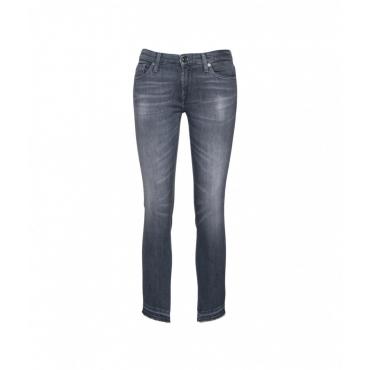 Pyper Crop Jeans grigio