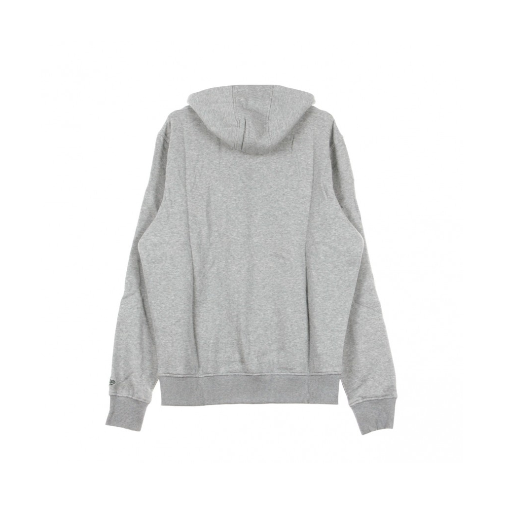 FELPA CAPPUCCIO TEAM LOGO PO HOOD GREPAC HEATHER GREY/ORIGINAL TEAM COLORS
