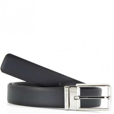 Cintura in vera pelle con fibbia FON