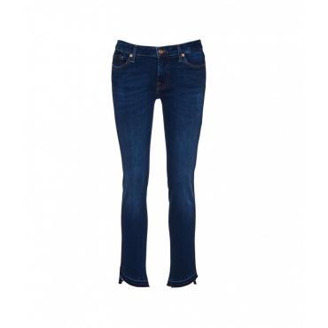 Pyper Crop Jeans blu