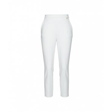 Pantalone doppio crpe bianco