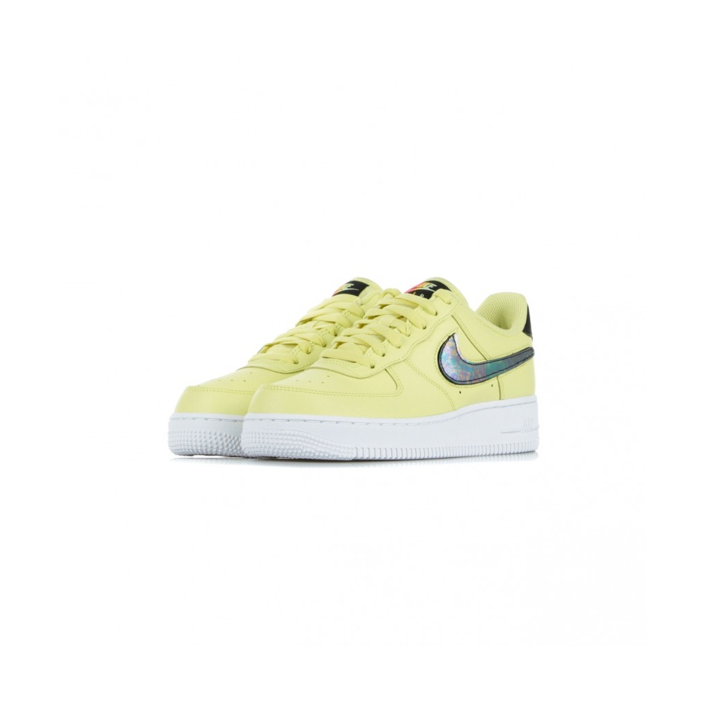 SCARPA BASSA AIR FORCE 1 07 LV8 3 YELLOW PULSE/BLACK/WHITE/WHITE