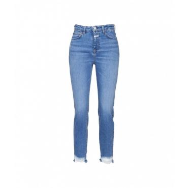 Jeans Baker High blu