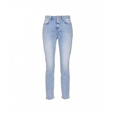 Jeans Baker high azzurro