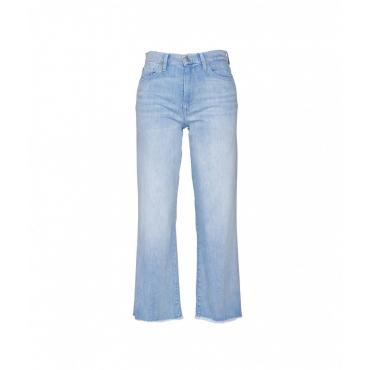 Jeans Cropped Alexa azzurro