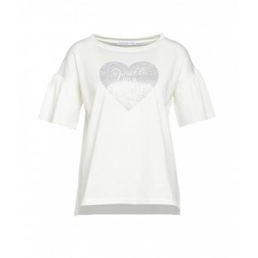 T-shirt Sparkle bianco