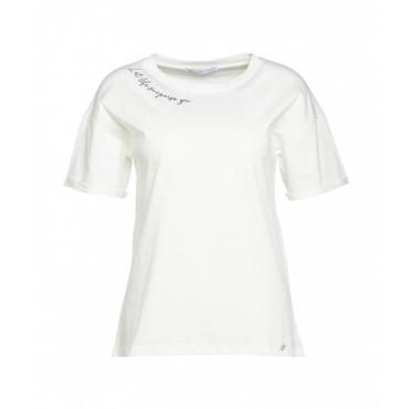 T-shirt Life bianco