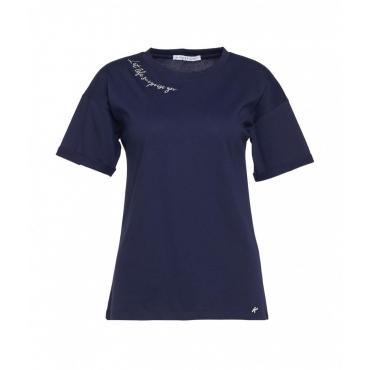 T-shirt Life blu