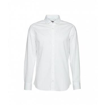 Camicia con struttura bianco