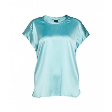 T-shirt Farida turchese
