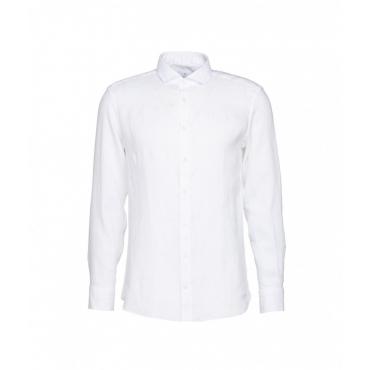 Camicia in lino Simo bianco