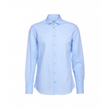 Camicia con struttura Simo azzurro