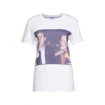 T-Shirt COUPLE bianco