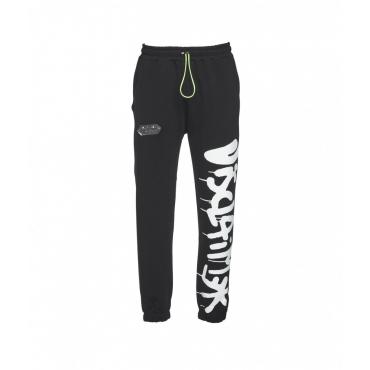 Pantaloni jogging con logo nero