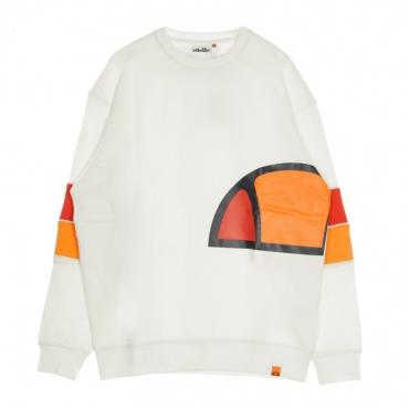 FELPA GIROCOLLO CREW NECK BRILLANT WHITE