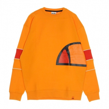 FELPA GIROCOLLO CREW NECK ORANGE POPSICLE