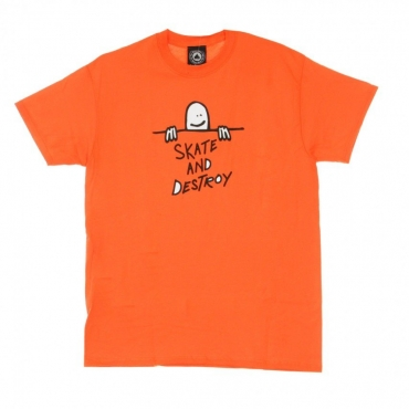 MAGLIETTA GONZ SAD LOGO TEE ORANGE
